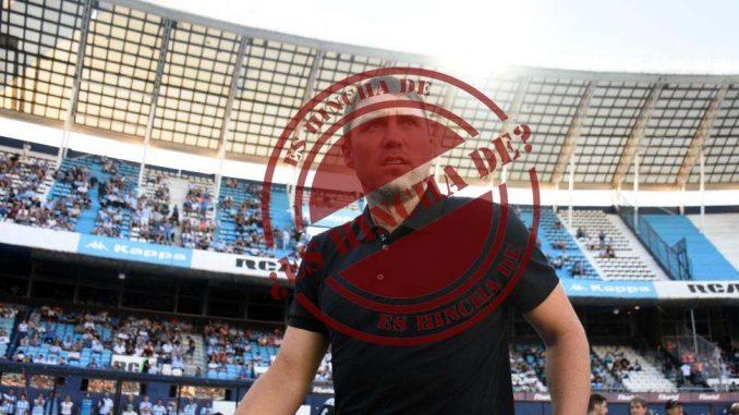 Chacho Coudet es hincha de Boca