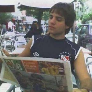 Esteban Edul es hincha de Independiente