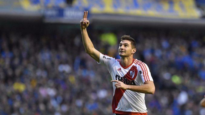 Lucas Alario es hincha de Boca