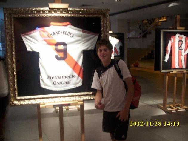 Adolfo Gaich es hincha de River Plate