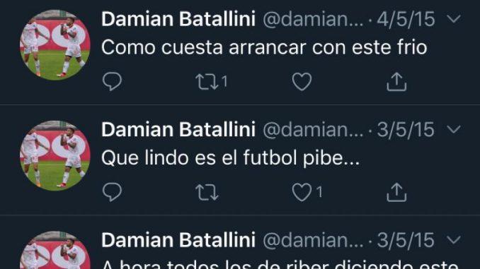 Damian Batallini es hincha de Boca