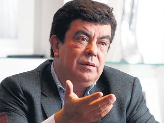 Fernando Espinoza hincha de