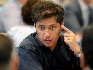 Axel Kicillof hincha de