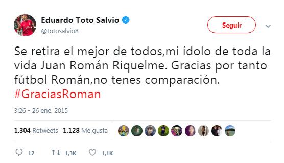 Toto Salvio Hincha de