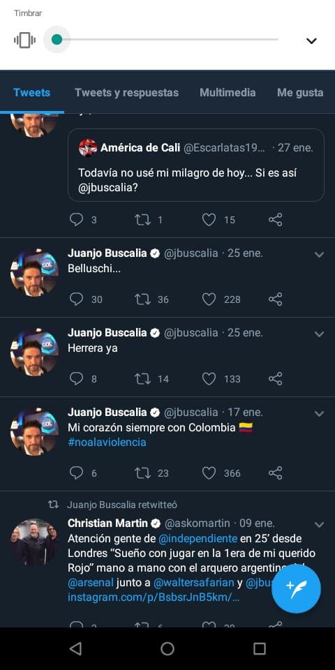 Buscalia Twitter