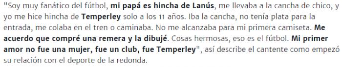 El polaco es de Temperley