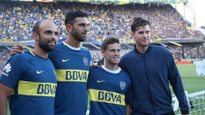 Diego Schwartzman hincha de Boca