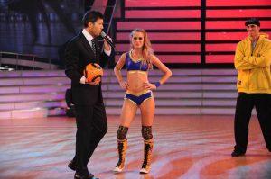 Chechu Bonelli en el Bailando con Ropa Bostera