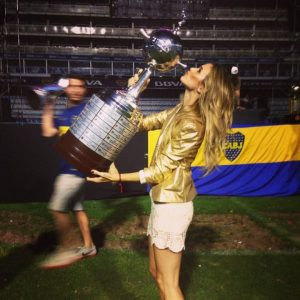 Chechu Bonelli y la Copa Libertadores