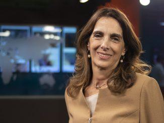 Maria Eugenia Bielsa hincha de Newell´s