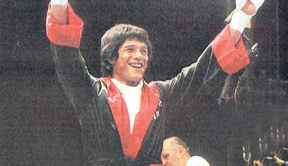 Carlos Monzon hincha de Colon