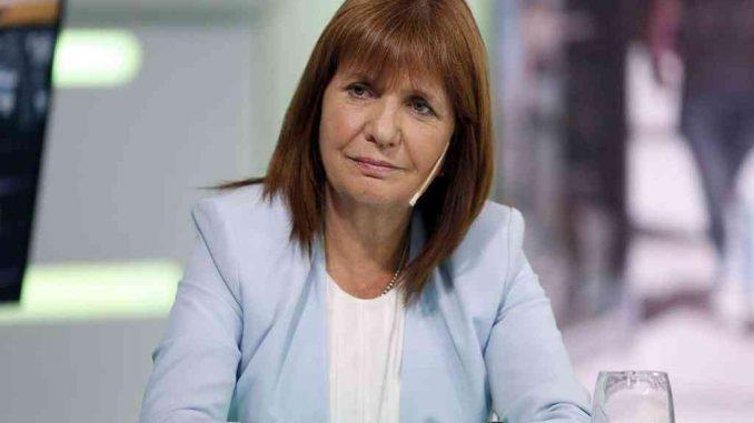 Patricia Bullrich hincha de