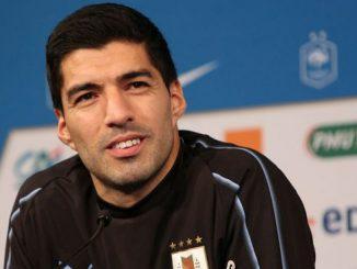 Luis Suarez hincha de