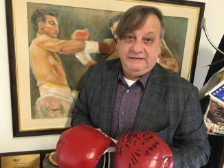 Hugo Basilotta hincha de