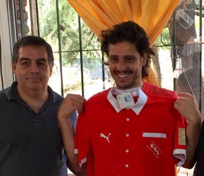 Gaudio hincha de Independiente