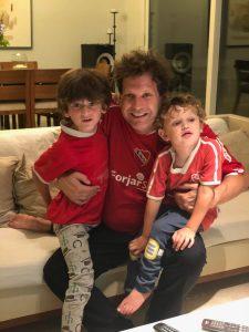 Bebe Contepomi hincha de Independiente