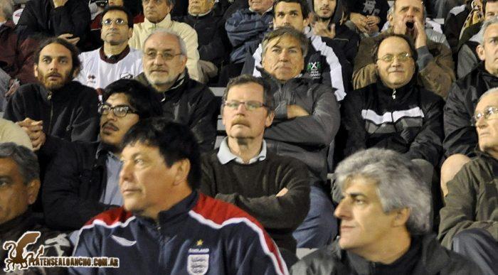 Juan Carr hincha de Platense