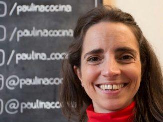 Paulina Cocina hincha de