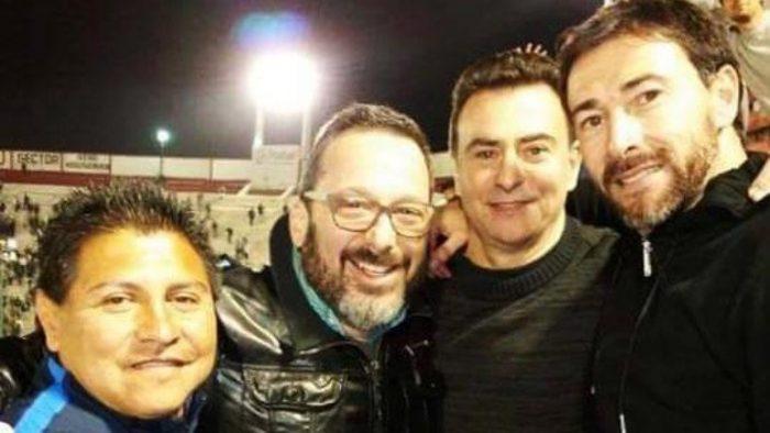 Es hincha de - Gerardo Rozin con Sietecase, Kily y el Negro Palma