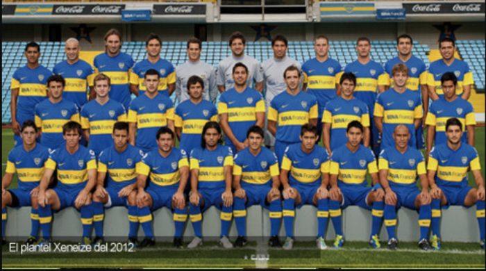 boca juniors 2012
