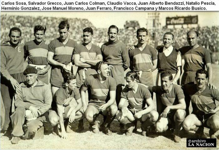 boca juniors 1950