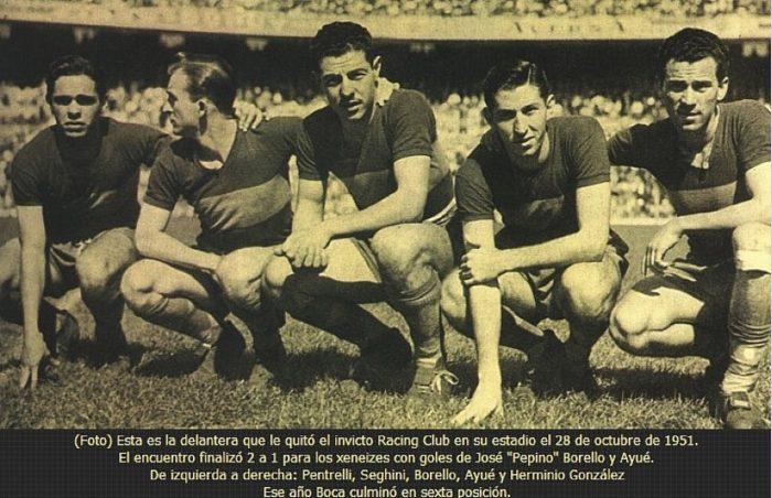 boca juniors 1951