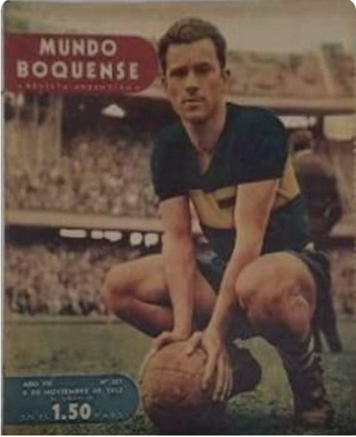 boca juniors 1952 herminio gonzalez