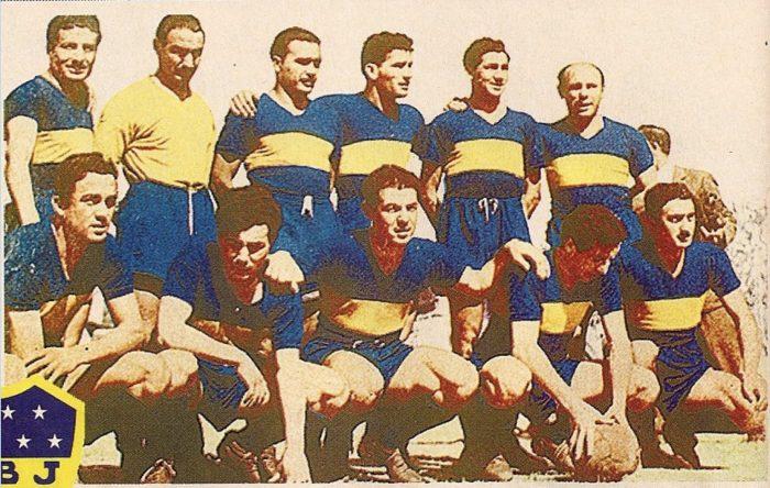 boca juniors 1954