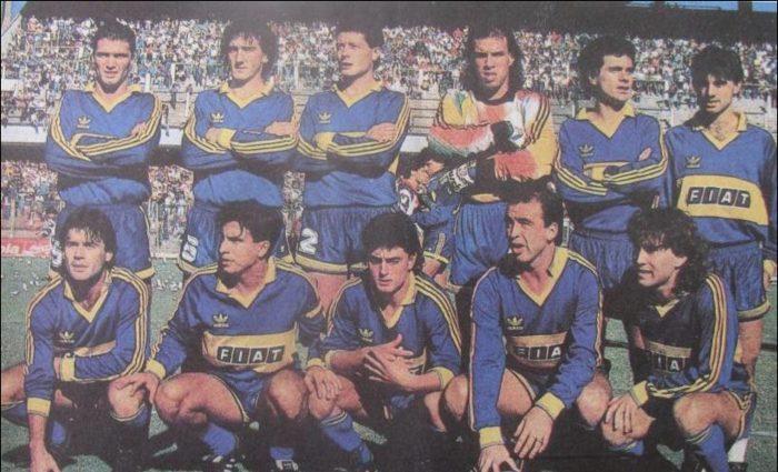 boca juniors 1990