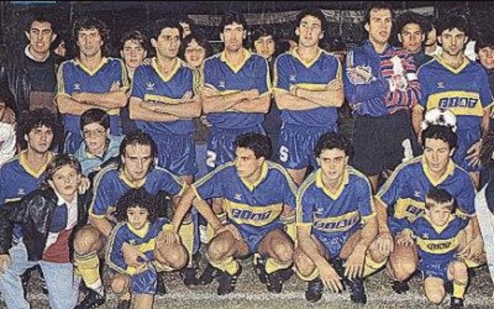 boca juniors 1991