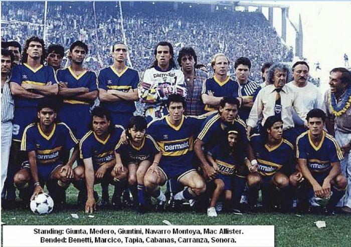 boca juniors 1992
