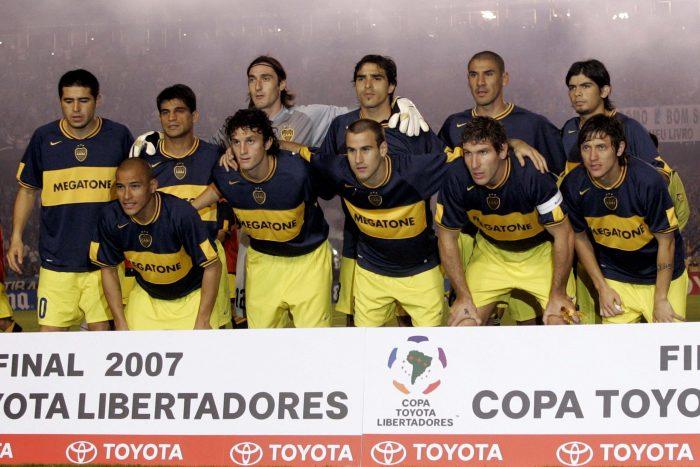 boca juniors 2007