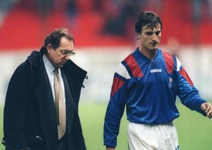 Es hincha de - Francia se queda afuera del Mundial 1994