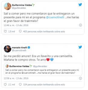 Guillermina Valdes hincha de