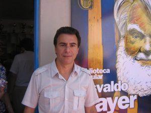 Reynaldo Sietecase hincha de Central