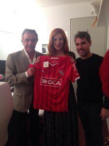 Nacha Guevara hincha de Independiente