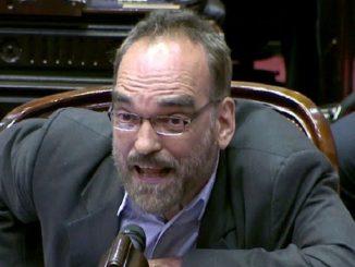 Fernando Iglesias hincha de