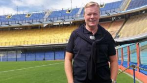 Ronald Koeman hincha de Boca