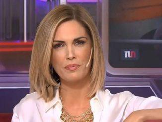 Viviana Canosa hincha de