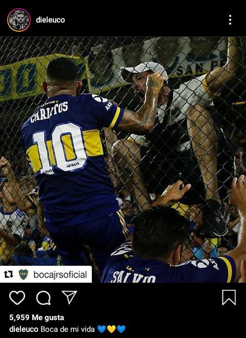 Diego Leuco hincha de Boca 3