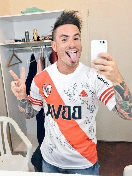 Fede Bal hincha de River Plate 2020