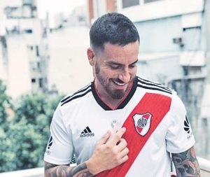 Fede Bal hincha de River Plate