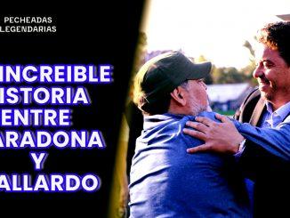 La increible historia entre Maradona y Gallardo