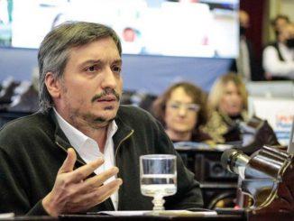 Maximo Kirchner hincha de