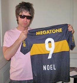 Noel Gallagher hincha de Boca 2