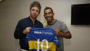 Noel Gallagher hincha de Boca 3