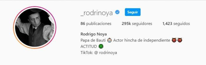 Rodrigo Noya hincha de Independiente 2021