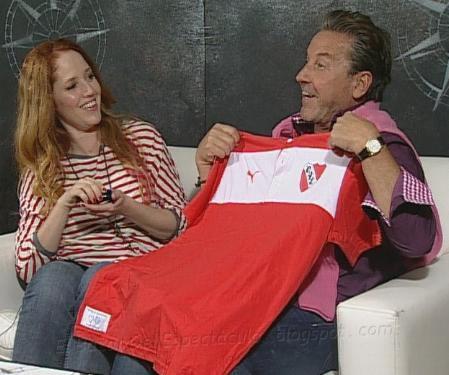 Ricardo Montaner hincha de Independiente