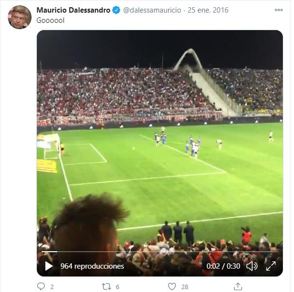 Mauricio Dalesandro hincha de Independiente de Avellaneda 2021