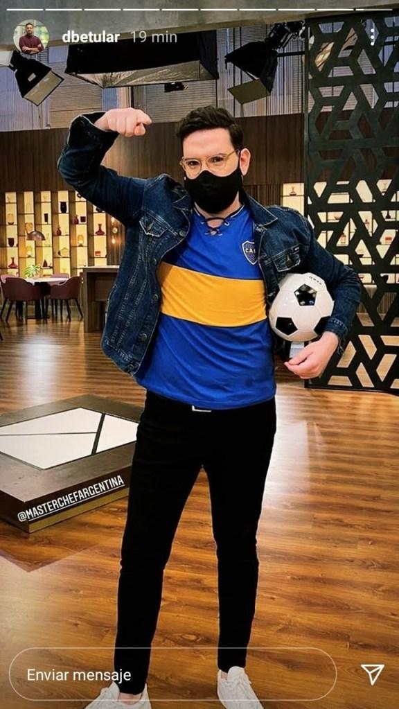 Damian Betular hincha de Boca Juniors 3